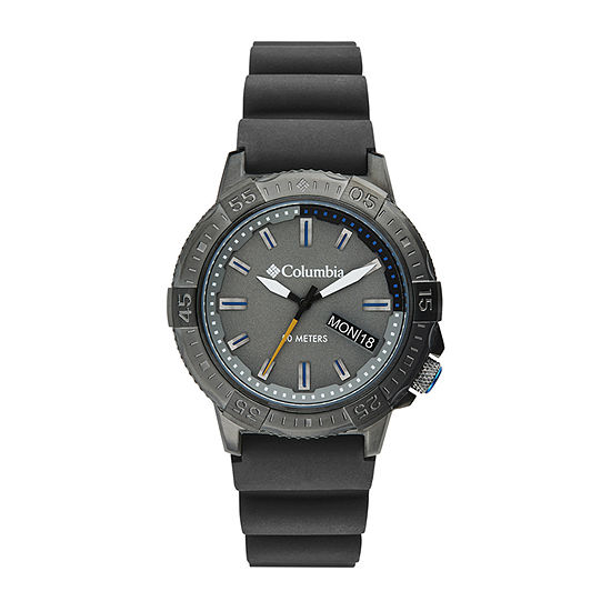 Columbia Sportswear Co. Mens Gray Strap Watch-Csc03-003