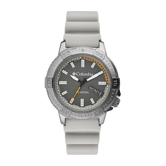 Columbia Sportswear Co. Mens Brown Strap Watch-Csc03-004