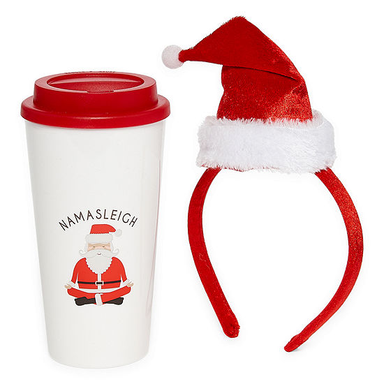 Mixit Holiday Travel Mug and Headband Set