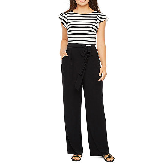 Jessica Howard Short Sleeve Jumpsuit