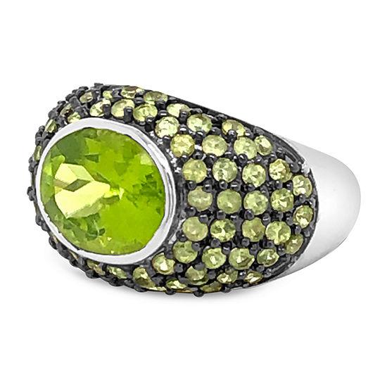 Le Vian Grand Sample Sale™ Ring featuring Green Apple Peridot™ set in 14K Vanilla Gold®