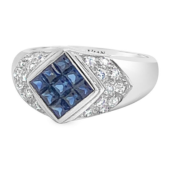 Le Vian Grand Sample Sale™ Ring featuring Blueberry Sapphire™ Vanilla Diamonds® set in 18K Vanilla Gold®