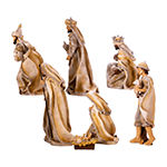 Kurt Adler 3-11.25-Inch Resin Nativity Set 7-pc. Figurine