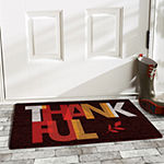 Thankful Rectangular Outdoor Doormat