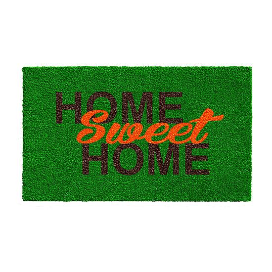 Calloway Mills Sweet Home Rectangular Outdoor Doormat