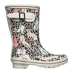 Skechers Bobs Womens Rain Check Rain Cats Rain Boots Waterproof Flat Heel