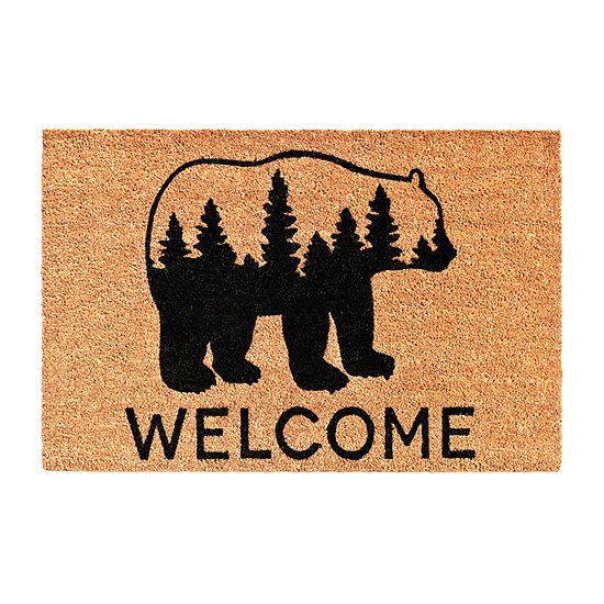 Calloway Mills Bear Country Rectangular Outdoor Doormat