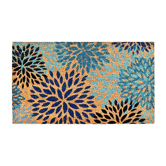Cosmos Rectangular Outdoor Doormat