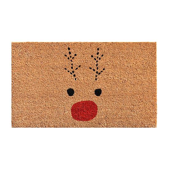 Rudolph Rectangular Outdoor Doormat