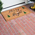 Yule Rectangular Outdoor Doormat