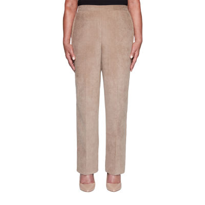 Alfred Dunner First Frost Womens Straight Pull-On Pants