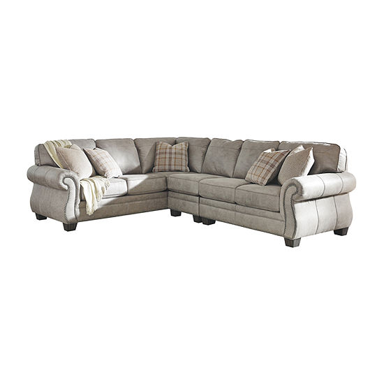 Signature Design by Ashley® Olsberg 3-Piece Loveseat Sectional