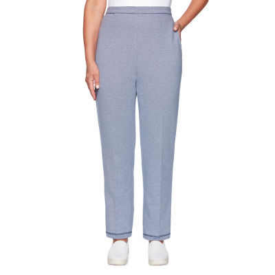 Alfred Dunner Road Trip Womens Straight Pull-On Pants