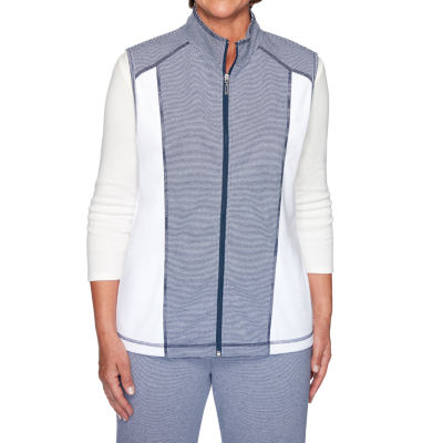 Alfred Dunner Road Trip Womens Vest