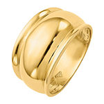 12MM 14K Yellow Gold Band