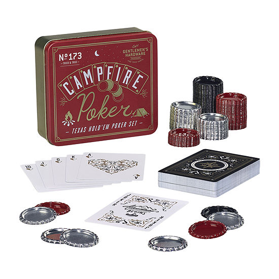 Gentlemen's Hardware Campfire Poker Set Table Game