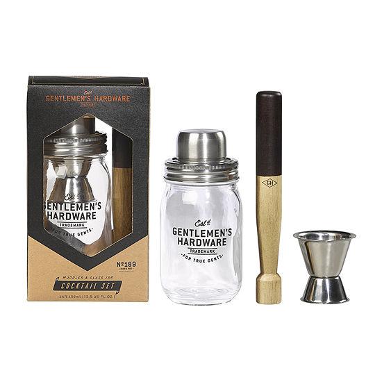Gentlemen's Hardware Gifting 3-pc. Cocktail Shaker