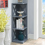 Oxford 3-Tier Corner Bookcase