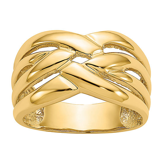 4MM 14K Yellow Gold Band
