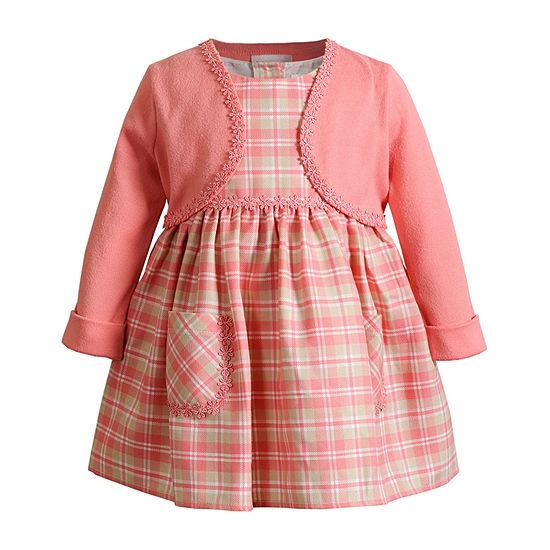 Sweetheart Rose Baby Girls 2-pc. Sleeveless A-Line Dress