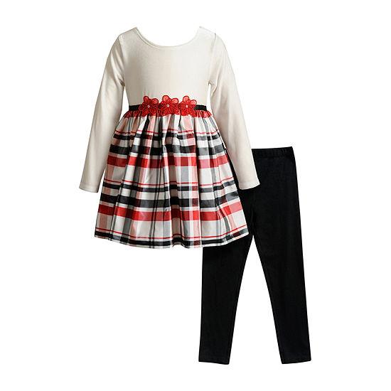 Youngland Toddler Girls 2-pc. Dress Set