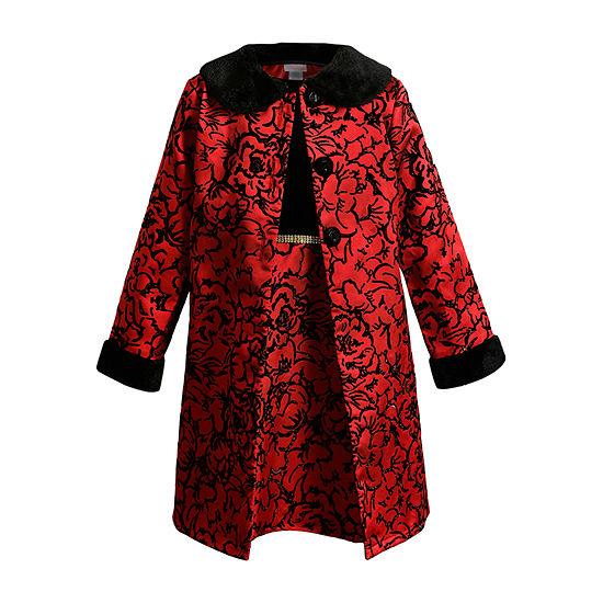 Youngland Toddler Girls 2-pc. Jacket Dress