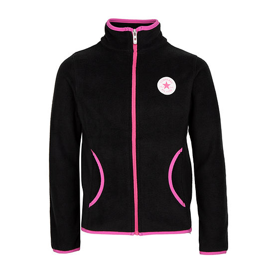 Converse Big Girls Fleece Lightweight Jacket