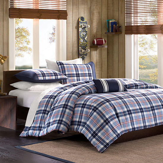 Alton Plaid Comforter Set