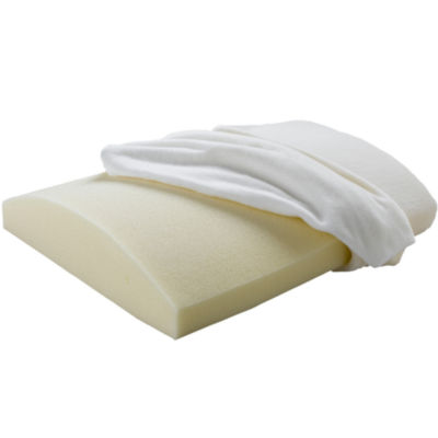 Beautyrest® Memory Foam Lumbar Travel Pillow