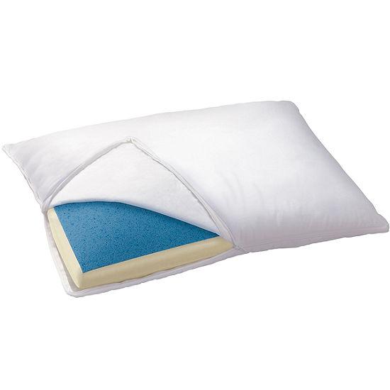 Sleep Innovations® Reversible Gel Memory Foam Pillow