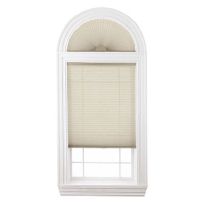 "Home Expressions Cordless 1"" Linen Pleated Shade - FREE SWATCH"