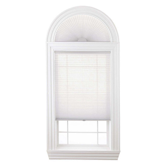 """Home Expressions Cordless 1"""" Linen Pleated Shade - FREE SWATCH"""