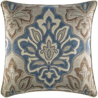 """Croscill Classics® Wainscott 18"""" Square Decorative Pillow"""
