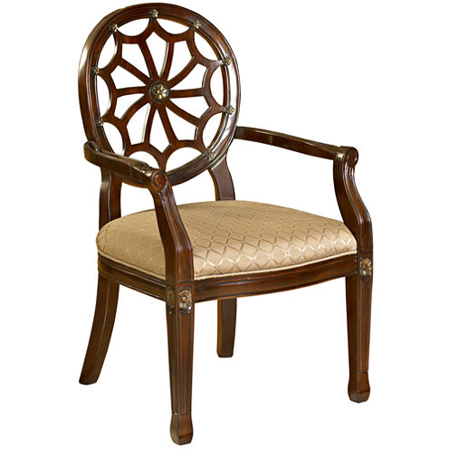 Jessica Spider Back Accent Chair