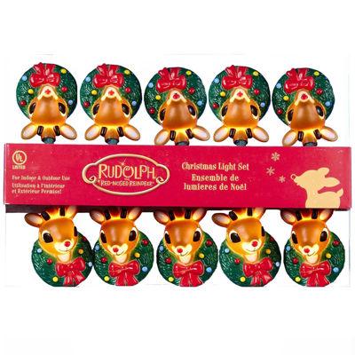 Kurt Adler Rudolph The Red Nose Reindeer® Light Set
