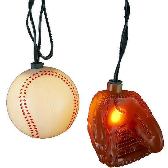 Kurt Adler UL 10-Light Ball and Glove Light Set