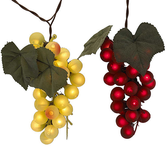 Kurt Adler UL 100-Light Grape Cluster Light Set