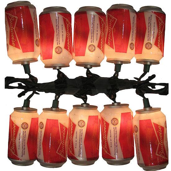 Kurt Adler 10-Light Budweiser Can Light Set