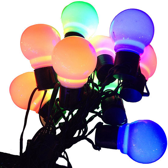 Kurt Adler Old Time Party Multi-Colored LED Light Set