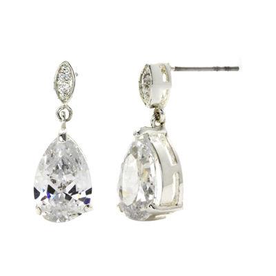 Sparkle Allure™ Cubic Zirconia Teardrop Earrings