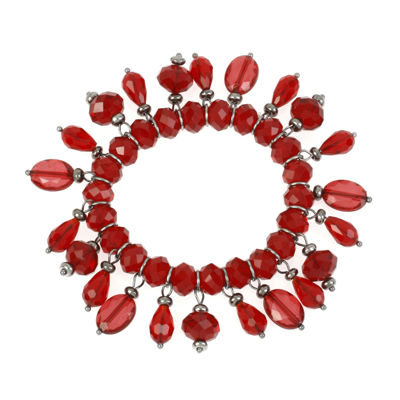 Mixit™ Red Bead Shaky Stretch Bracelet