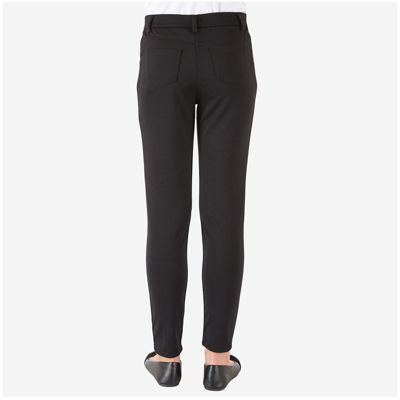 by&by Girl Skinny Black Ponte Pants - Girls 7-16