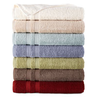 JCPenney Home Solid Bath Towels