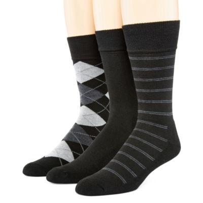 Hanes® 3-pk. Ultimate X-Temp™ Mens Crew Socks