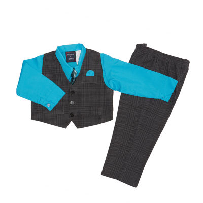 Hudson Ferrell 4-pc. Suit Set Baby Boys
