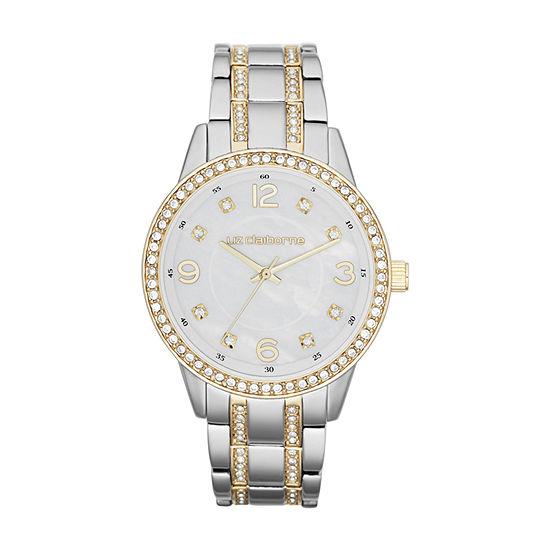 Liz Claiborne Womens Two Tone Bracelet Watch - Lc1195t