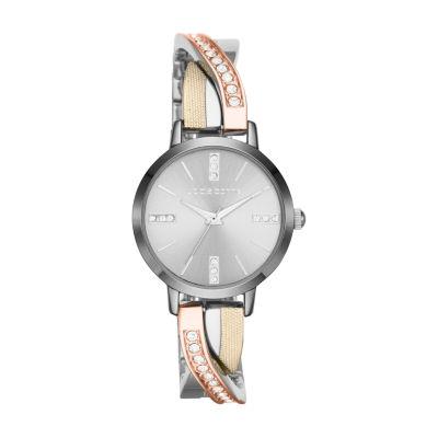 Liz Claiborne Liz Claiborne Womens Multicolor Bracelet Watch-Lc1220t