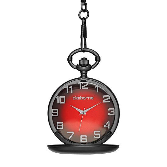 Claiborne Mens Bracelet Watch-Clm1085t