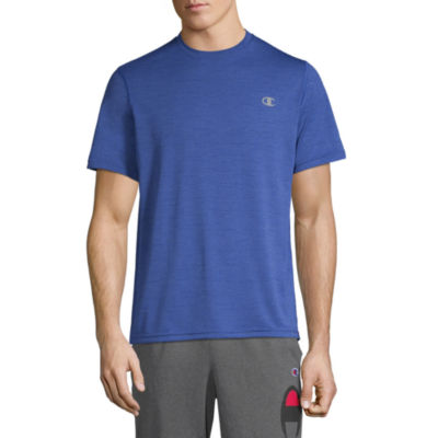 Champion Mens Crew Neck Short Sleeve Moisture Wicking T-Shirt