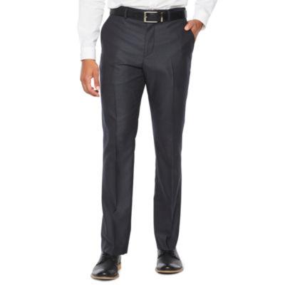 JF J.Ferrar Stripe Super Slim Fit Stretch Suit Pants